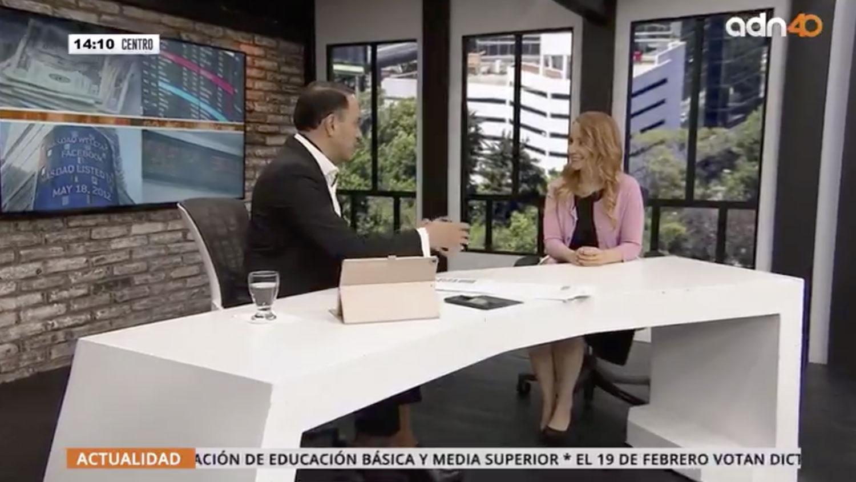 entrevista Claudia Jañez ADN 40